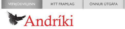 Umfjöllun um Samtökin hjá Vefþjóðviljanum